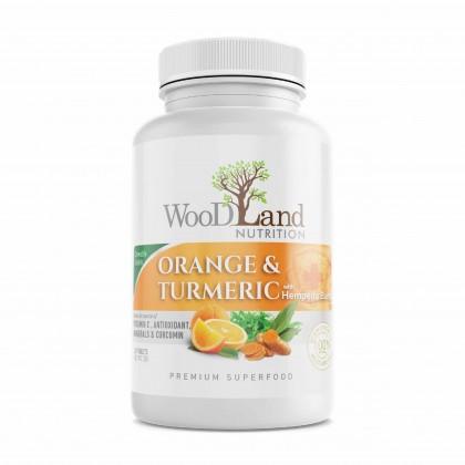 Orange & Turmeric with Hempedu Bumi Chewable Tablets |  Immunity Booster